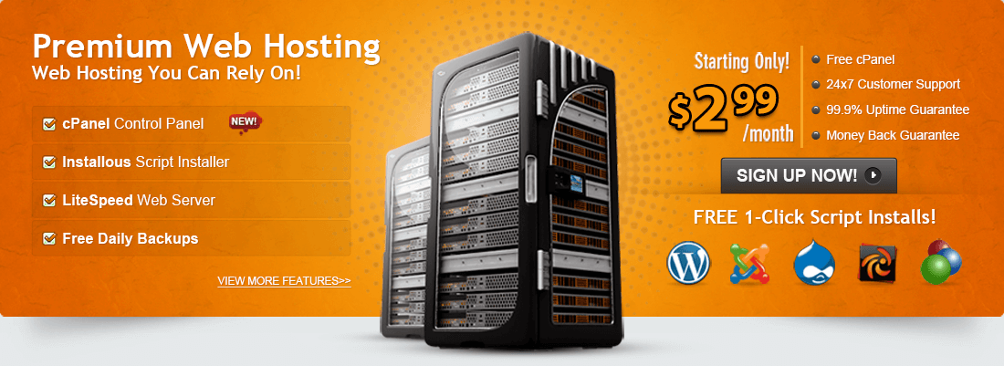 All of our web hosting plans come fully managed so you can focus on your website